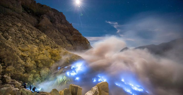 Blue Fire Ijen Thalia Travel