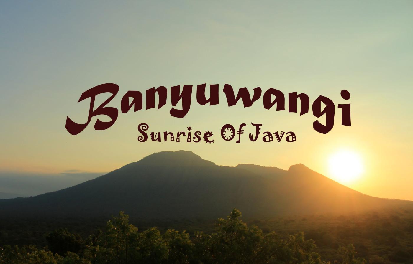 Welcome to Banyuwangi City